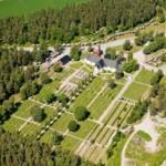 Närpiön kirkon seutu. Kuva: Hannu Vallas