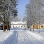 Kuddnäs hem av Zacharias Topelius. Bild: Kommuns arkivet