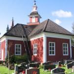 Petolahden kirkko. Kuva: Anders Hendricksson, kunnan kuva-arkisto