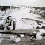 Eteläkylän Isosilta. Kuva: Pyhäjoen Museo